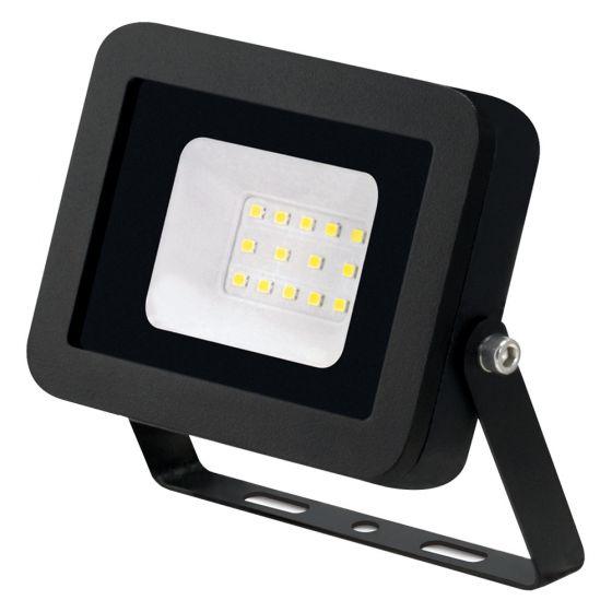 Image of Avenger LED Floodlight 10W 4000K IP65 Black Outdoor