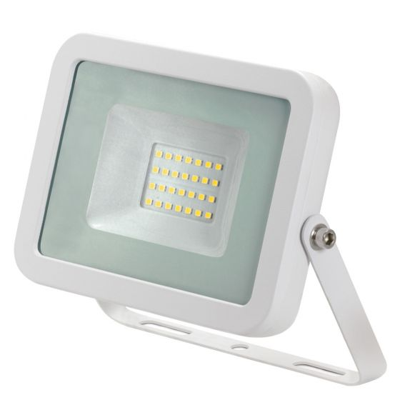 Image of Avenger LED Floodlight 20W 4000K IP65 White Outdoor
