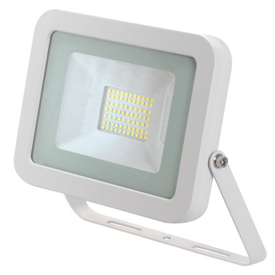 Avenger LED Floodlight 50W 4000K IP65 White Outdoor