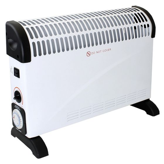 Image of Avenue Convector Heater With Timer 2KW With Adjustable Thermostat