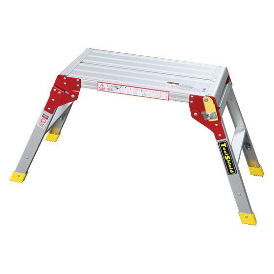 Image of Avenue Work Platform Step Up Aluminium Fold Away 390 x 965mm