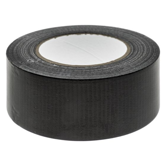 Image of Avenue Gaffer Duct Tape Reinforced 50mm Wide Black Roll of 50M