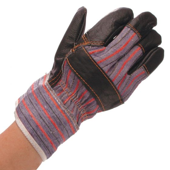 Image of Avenue Leather Rigger Gloves Industrial Hand Protection Pair