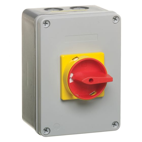 Image of Avenue Rotary Isolator Switch 63A 4 Pole 690V Insulated Waterproof IP65