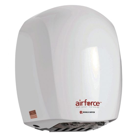 Image of Warner Howard Airforce BC0323 Jet Hand Dryer Automatic White Metal