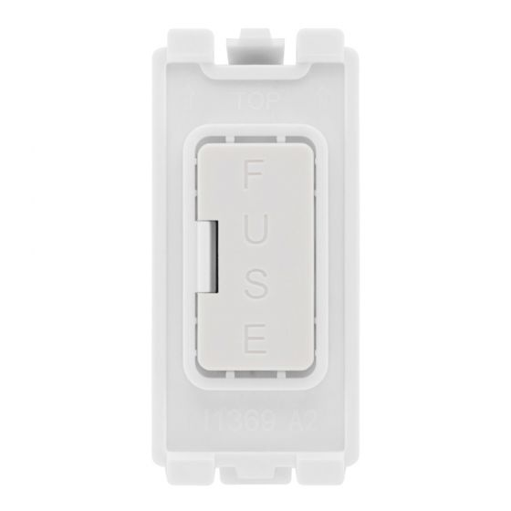 Image of BG Electric RFUSE Grid Fuse Unit Single Module with 13A Fuse White