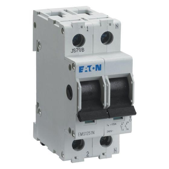 Image of Eaton MEM Memshield 3 EAMS1251N Main Switch Isolator 125A SPSN Type A
