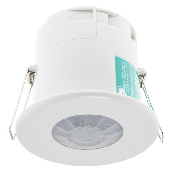 Image of CP Electronics EBDSPIR PIR Detector Ceiling Mounted 1900W 8A White