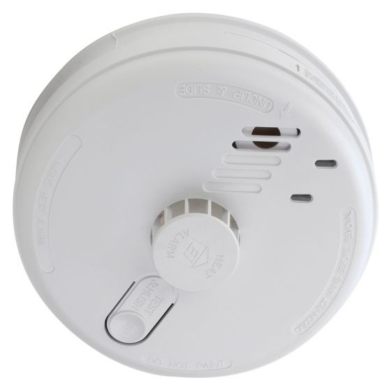 Image of Aico EI144RC Mains Powered Heat Alarm Detector with 9V Battery Backup