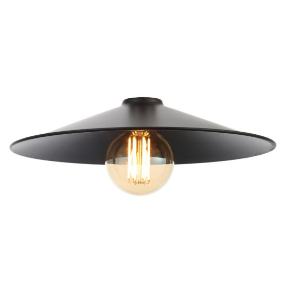 Image of Inlight Rigel Wide Fisherman's Pendant Shade Black