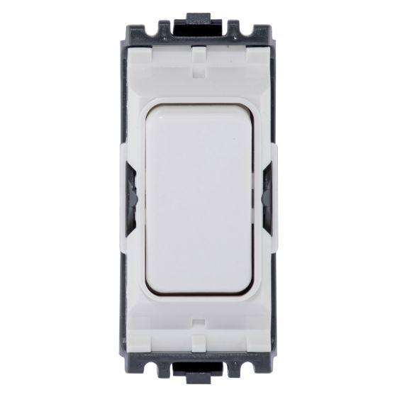 NEW WHITE MK Grid Plus K4893-20A Intermediate Switch