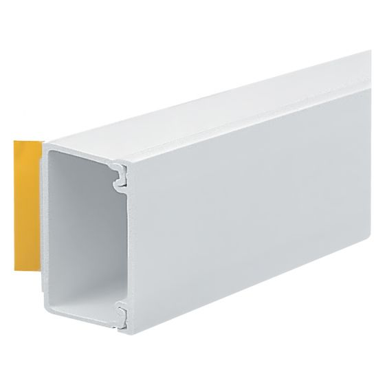 Image of Marshall Tufflex MMT2SFWH Mini Trunking 25x16mm Self Adhesive White 3M