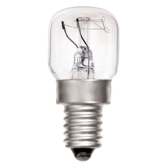 Image of 15W SES Incandescent Oven Appliance Lamp 2700K Bulb White