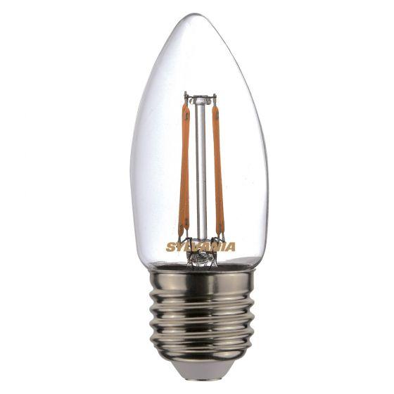 Image of Sylvania 4.4W ES (E27) LED Filament Candle Lamp Warm White