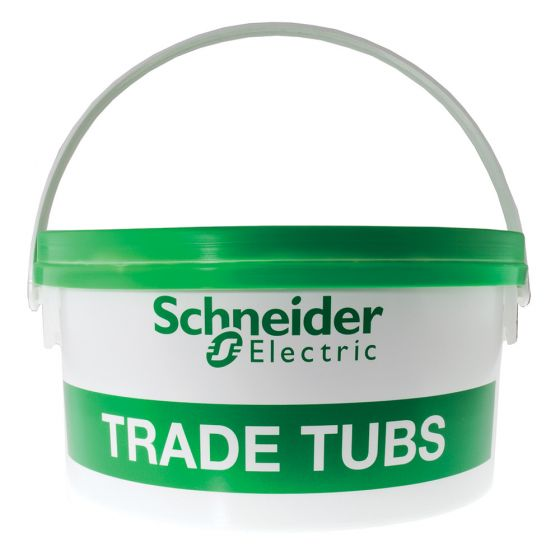 Image of Schneider Trade Tub 400 1.5mm & 2.5mm Flat Twin & Earth Cable Clips