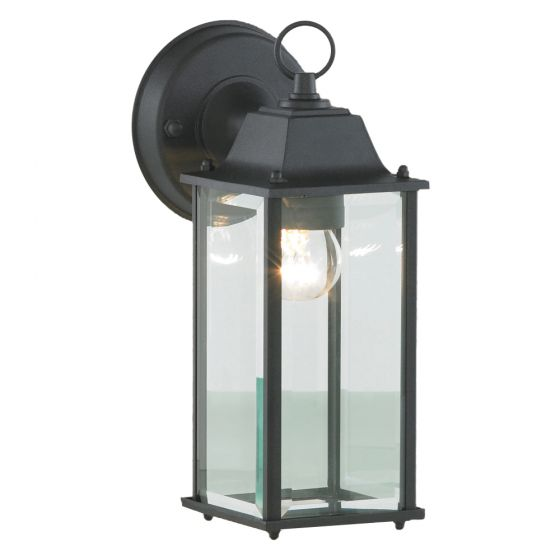 Image of Forum Zinc Ceres Outdoor Down Lantern ES (E27) Black