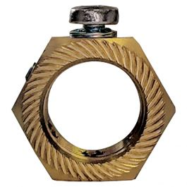 Brass 25mm Earthing Lock Nuts Buy Online At Medlocks Co Uk
