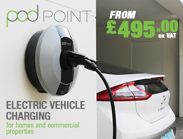 Pod Point Home and Commercial Car Chargers