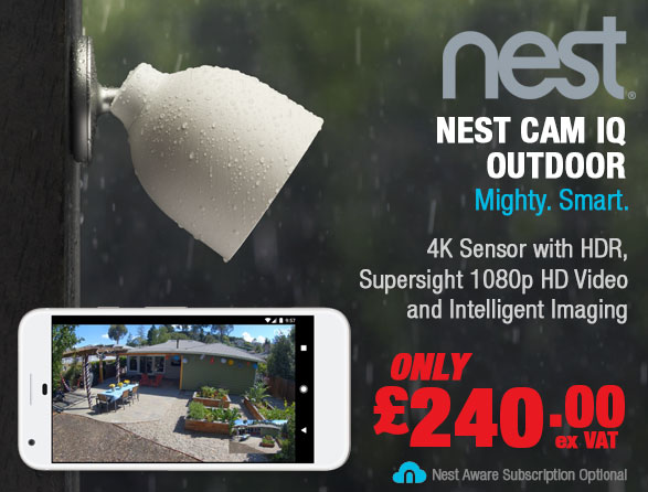 NEST Cam IQ Outdoor Security Camera Wifi