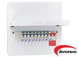 AVENUE POPULATED A3 CONSUMER UNIT